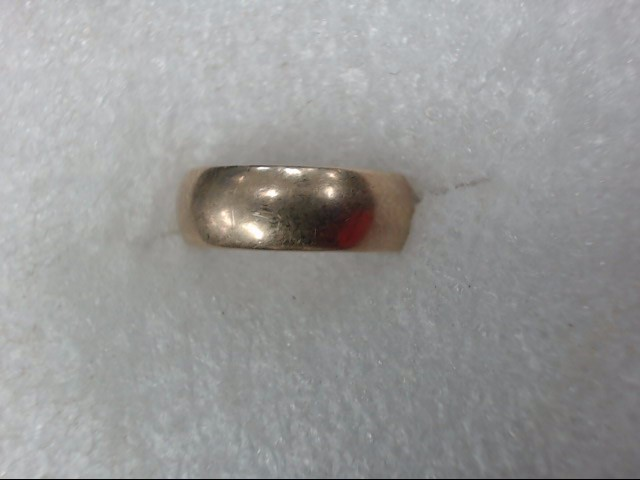 Gent's Gold Wedding Band 10K Yellow Gold 2.32dwt