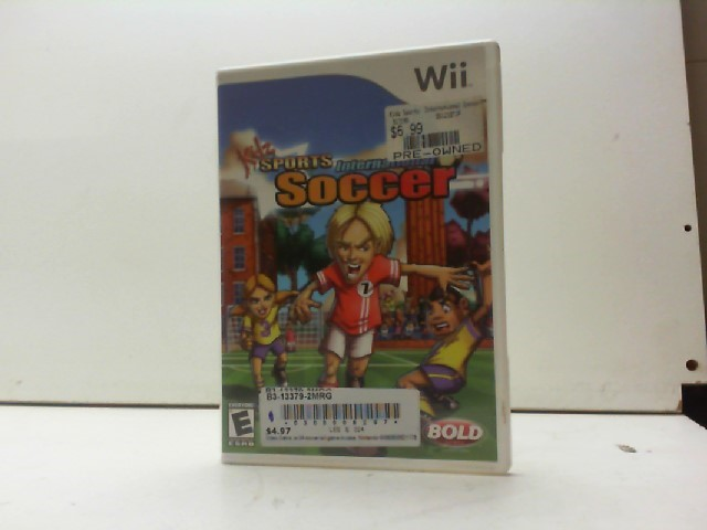 NINTENDO Nintendo Wii Game KIDZ SPORTS INTERNATIONAL SOCCER