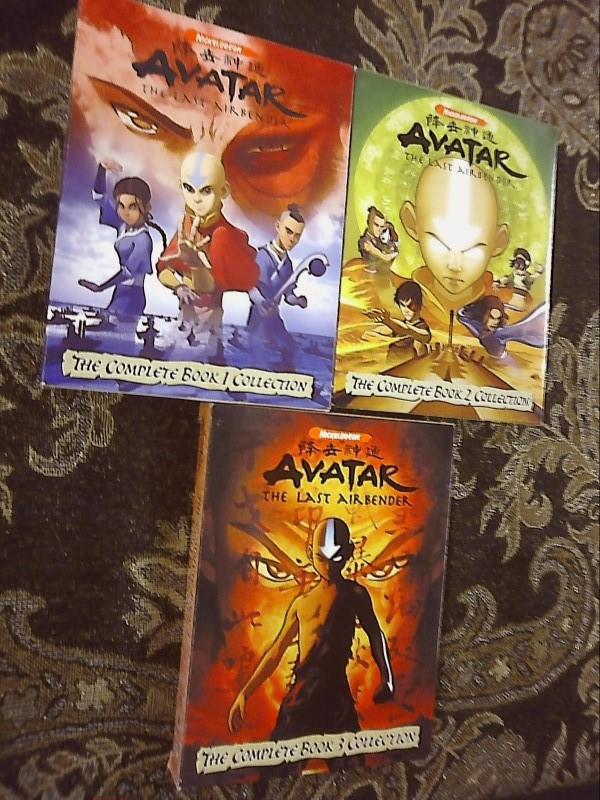 AVATAR-THE LAST AIRBENDER: THE COMPLETE BOOK 1-3 DVD