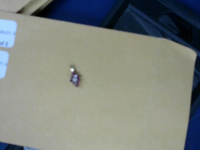 Red Stone Gold-Diamond & Stone Pendant .07 CT. 14K Yellow Gold 0.55g