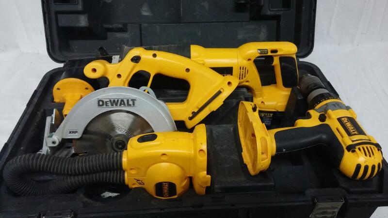 DEWALT Combination Tool Set DC4CKITA
