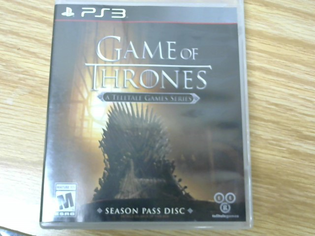SONY Sony PlayStation 4 Game GAME OF THRONES A TELLALE GAMES SERIES