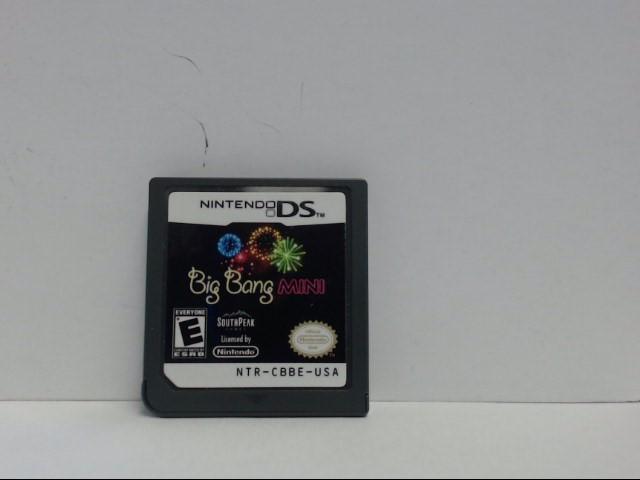 Nintendo DS Game BIG BANG MINI Cartridge Only