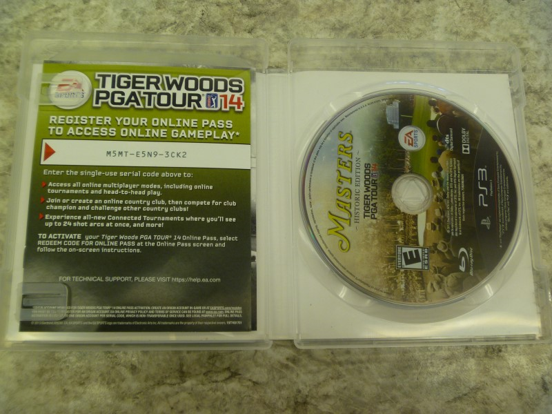 TIGER WOODS PGA TOUR 14 MASTERS HISTORIC EDITION (PS3)