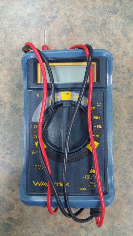 WAVETEK Multimeter METERMAN DM7