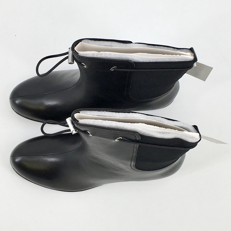 Taryn Rose Aq Amir Leather Boot, Black, Size 9