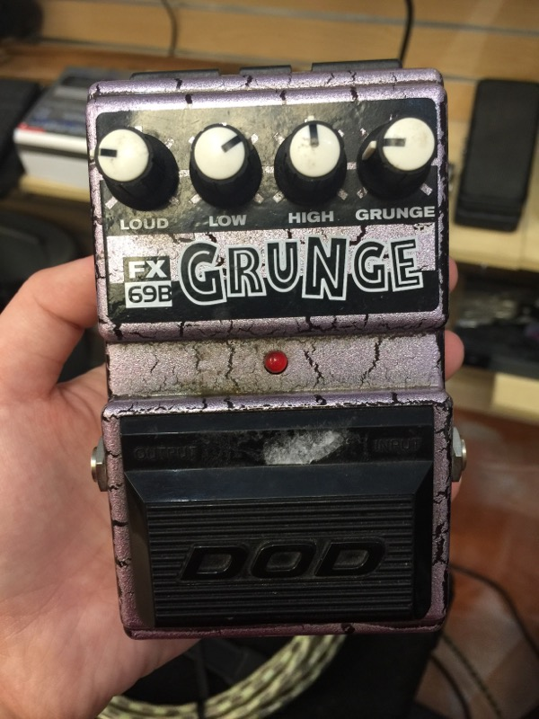 DOD Effect Equipment FX69B GRUNGE