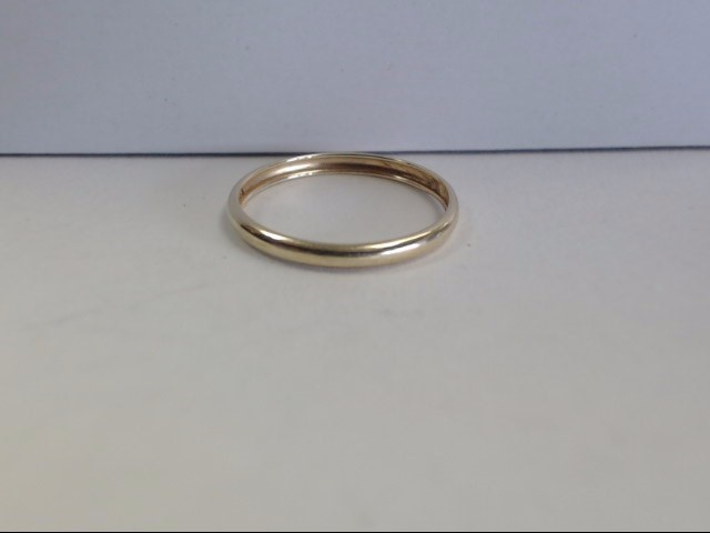 Lady's Gold Ring 10K Yellow Gold 0.3g