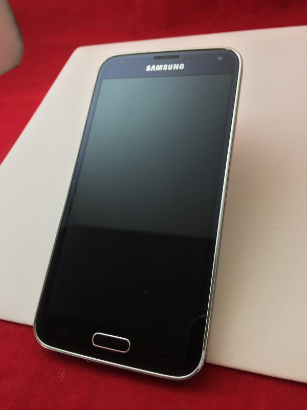 SAMSUNG GALAXY S5 16GB (SPRINT) - CHARCOAL BLACK - SM-G900P