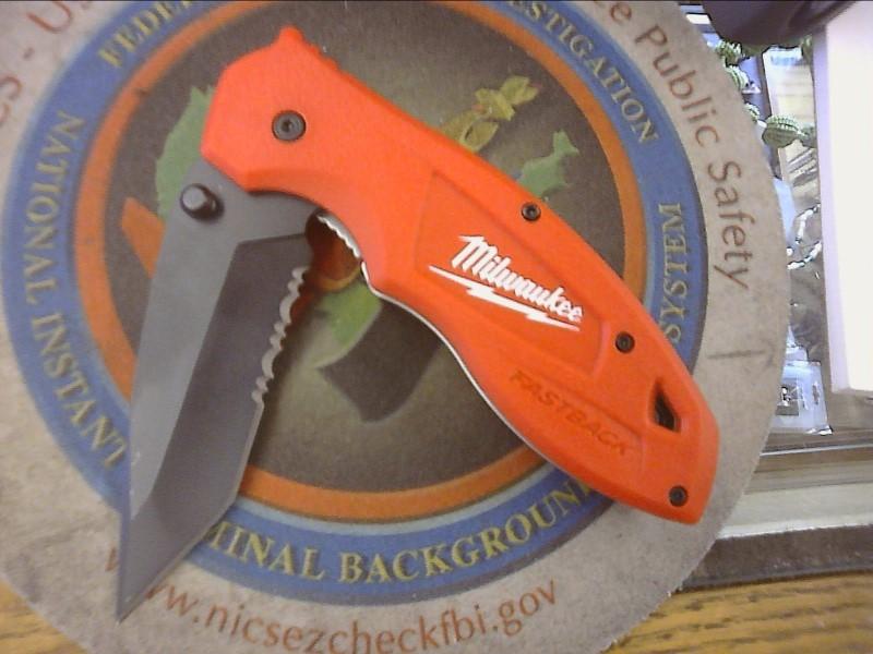 MILWAUKEE Pocket Knife FASTBACK