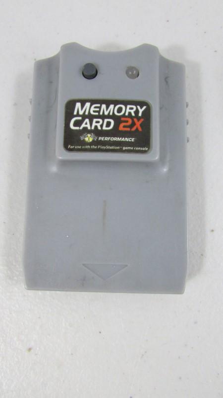 PLAYSTATION MEMORY CARD