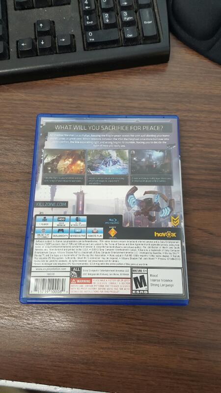 SONY Sony PlayStation 4 Game PS4 GAME KILLZONE SHADOW FALL