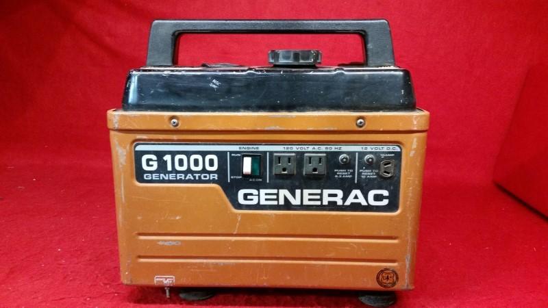 Generac G1000 Gas Portable Generator