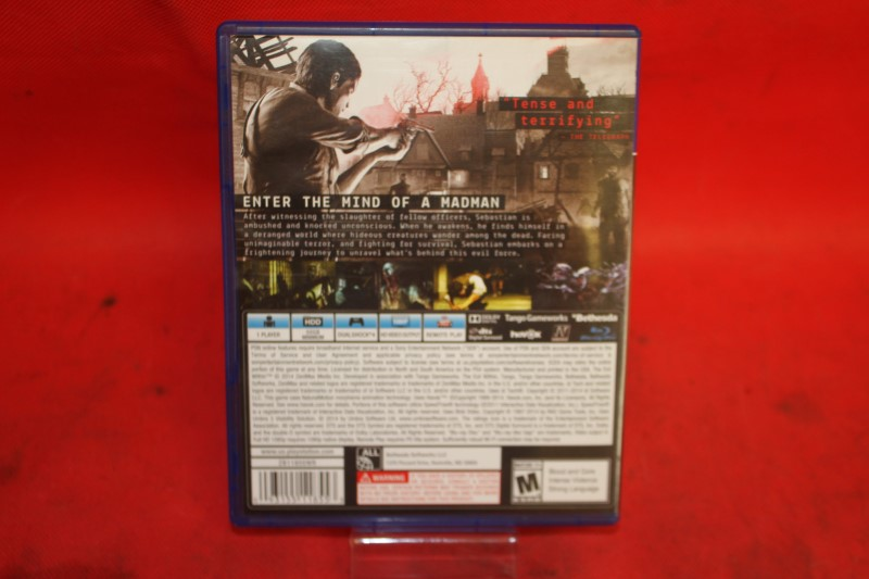 Evil Within (Sony PlayStation 4, 2014)