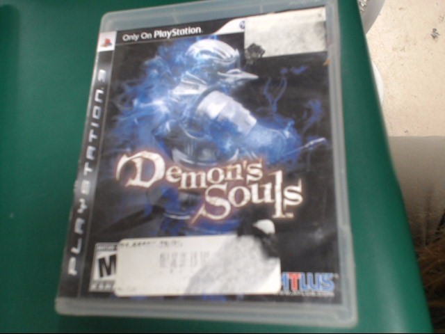 SONY Sony PlayStation 3 Game DEMON'S SOULS