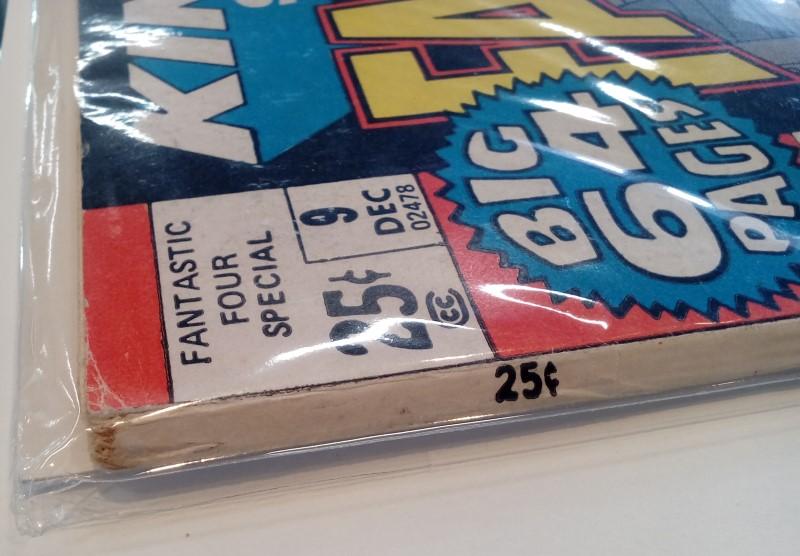 MARVEL COMICS FANTASTIC FOUR KING SIZE DEC 9 (1971)