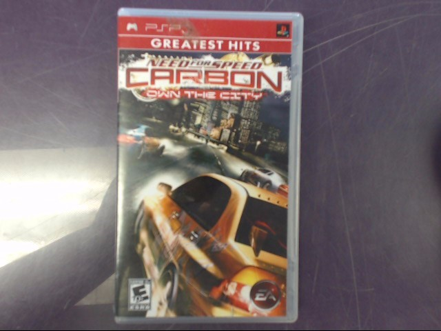 Sony PSP Game NEED FOR SPEED CARBON: OWN THE CITY PSP