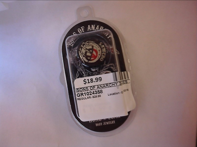 "ROAD GEAR SONS OF ANARCHY GUAGES 3/4"" - 1 Pair"