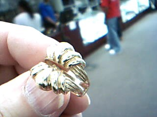 Lady's Gold Ring 14K Yellow Gold 6.4g