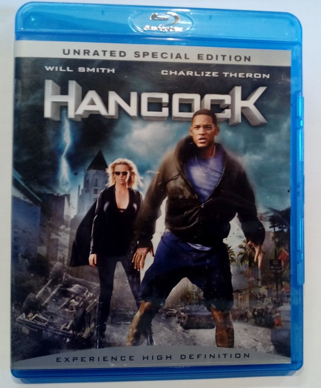 BLU-RAY MOVIE HANCOCK UNRATED SPECIAL EDITION