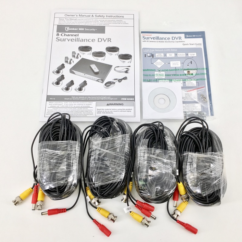 Bunker Hill Security 8-Channel Surveillance DVR Kit - Item# 62463