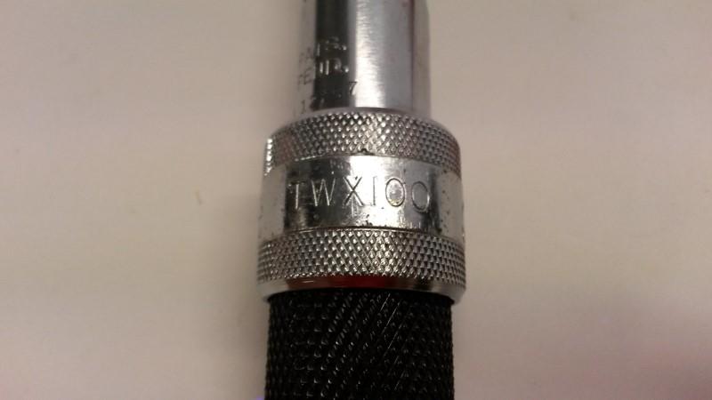 MAC TOOLS Sockets/Ratchet TWX100FC TORQUE WRENCH