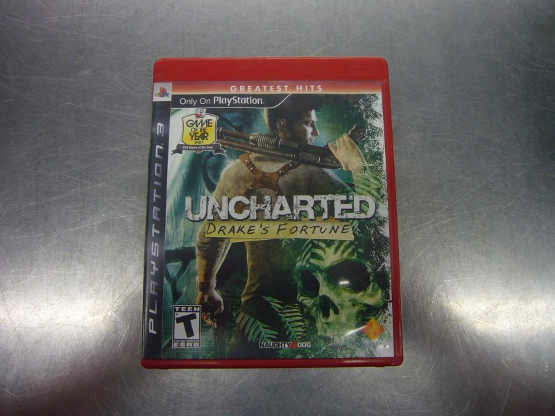 SONY PlayStation 3 Game UNCHARTED DRAKE'S FORTUNE GREATEST HITS