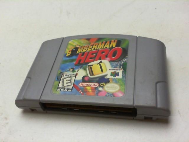 NINTENDO Nintendo 64 Game BOMBERMAN HERO