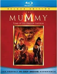 BLU-RAY MOVIE Blu-Ray THE MUMMY TOMB OF THE DRAGON EMPEROR