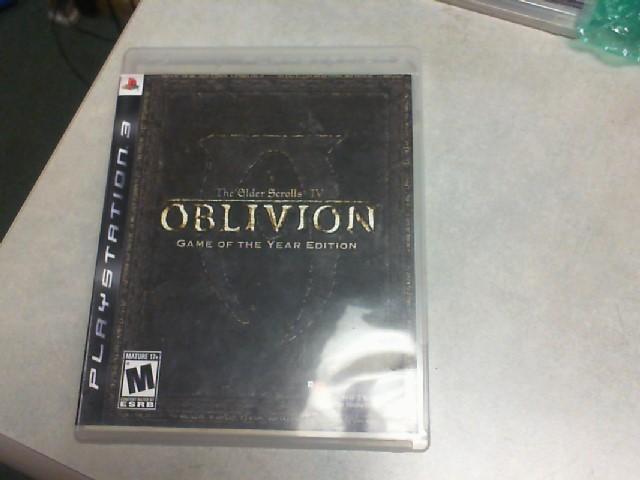 SONY Sony PlayStation 3 Game THE ELDER SCROLLS IV - OBLIVION