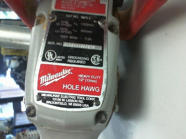 MILWAUKEE Hole Hawg 1675-1 HOLE HAWG