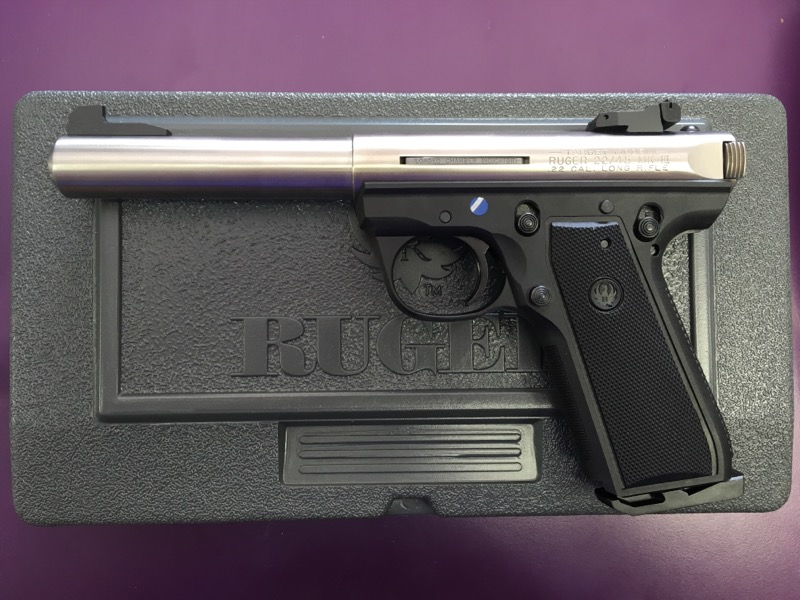 Ruger - MK III Target Model - .22 LR - 10110