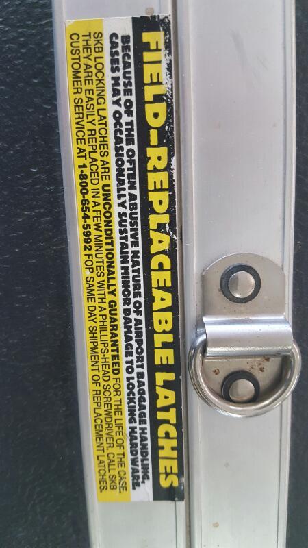 SKB 2SKB4900 Single Rifle Case Polyethylene Ribbed ATA Rated Weatherproof