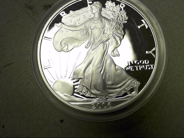 UNITED STATES Silver Coin 2006 PROOF SILVER EAGLE