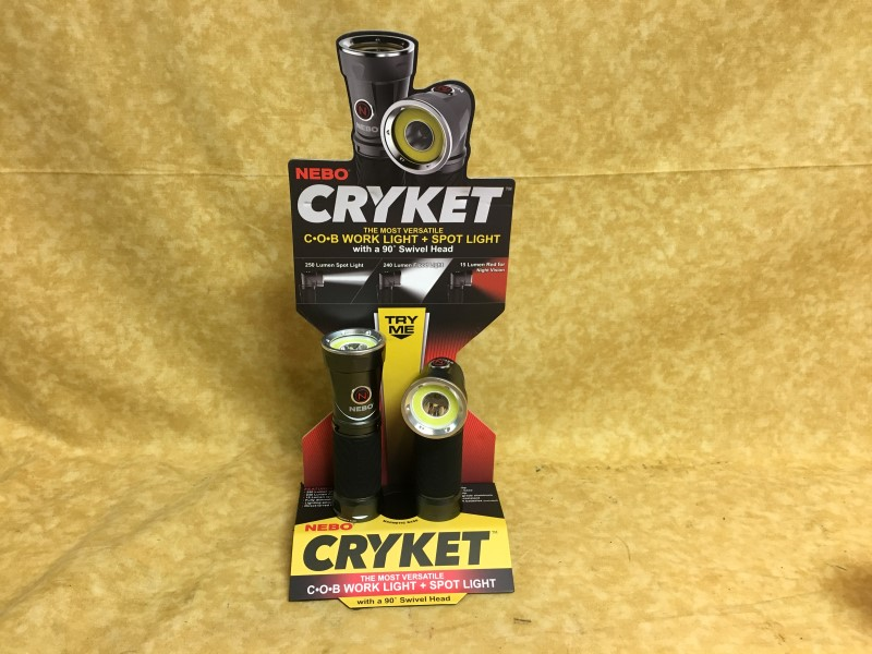 NEBO Flashlight CRYKET WORK LIGHT