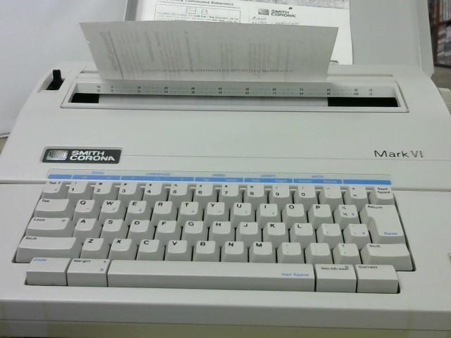 SMITH CORONA Printer MARK VI