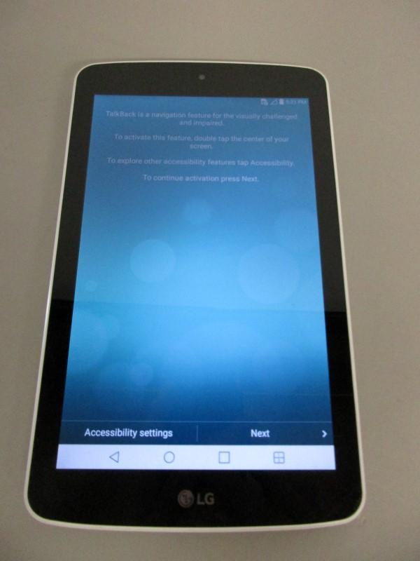 LG LK430 G PAD F 7.0, SPRINT, 8 GB