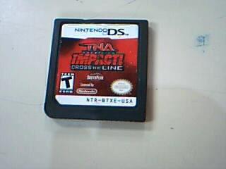TNA WRESTLING Nintendo DS Game IMPACT CROSS THE LINE NINTENDO DS