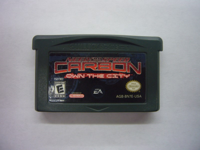 NINTENDO GBA Game NEED FOR SPEED CARBON OWN THE CITY *CARTRIDGE ONLY*