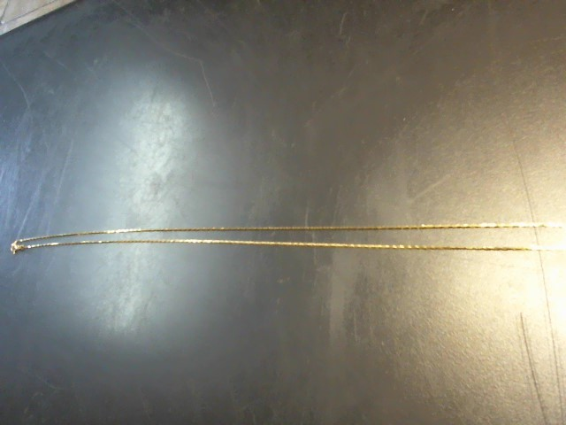 Gold Chain 14K Yellow Gold 2.1g