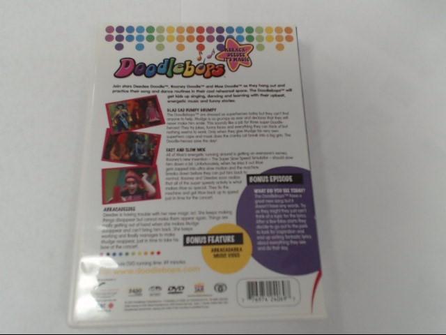DVD MOVIE DOODLEBOPS ABRACADEE IT'S MAGIC VOL 4