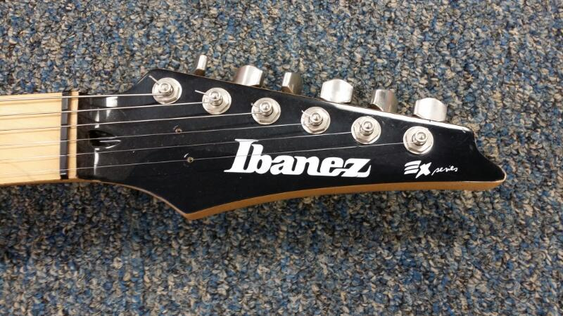 IBANEZ Electric Guitar EX-170 EX SERIES BASSWOOD BODY]
