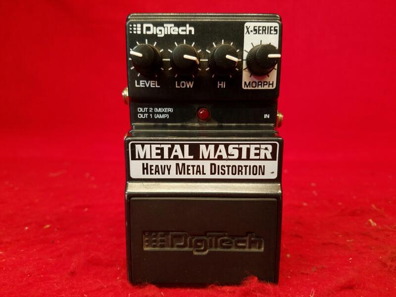 Digitech X-Series Heavy Metal Distortion Metal Master Guitar Effect Pedal