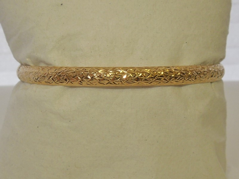 Gold Fashion Bracelet 10K Yellow Gold 3.7g