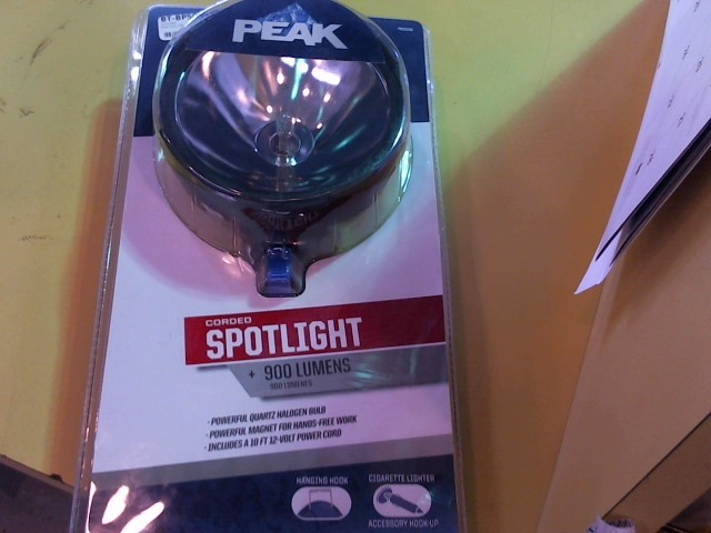 PEAK PKC0TV LED SPOTLIGHT