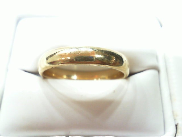 Gent's Gold Ring 10K Yellow Gold 4.6g Size:7