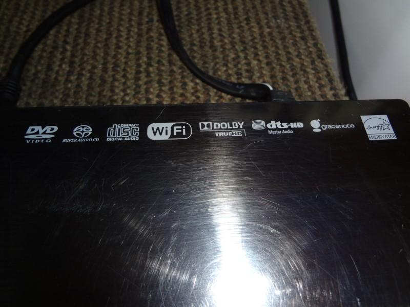 SONY DVD PLAYER BDP-S790 W/REMOTE