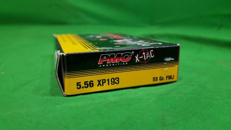 PMC XTAC 5.56 XP193 55GR FMJ 20RDS