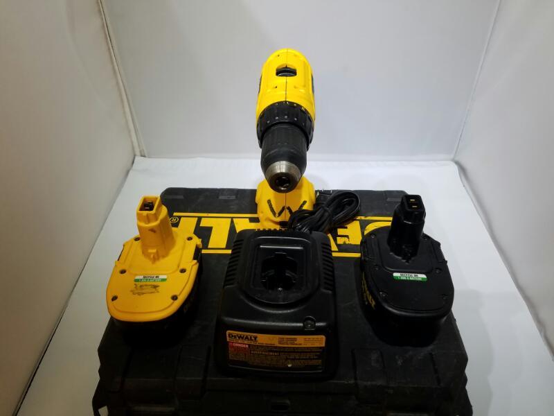 DEWALT DC728 14.4V Cordless Drill Driver Bundle