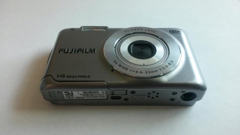 Fujifilm Finepix JX500 Digital Camera   Grey Metallic -14 Megapixels
